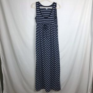 Maternity - Old Navy striped maxi dress